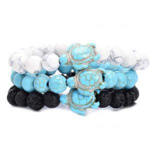 unisex sea turtle bracelet