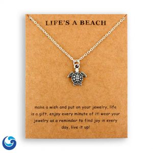 Baby Sea Turtle necklace