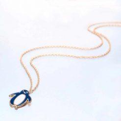 Gold Penguin necklace