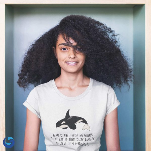 """""""Who Called Them Killer Whales ?"""" T-shirt"""