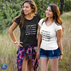 I just want to save the ocean tshirt