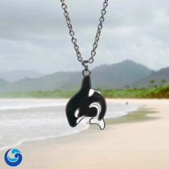 Orca necklace