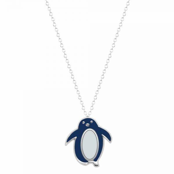 Silver Penguin necklace