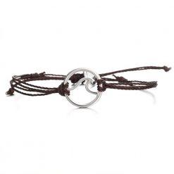 brown wave bracelet