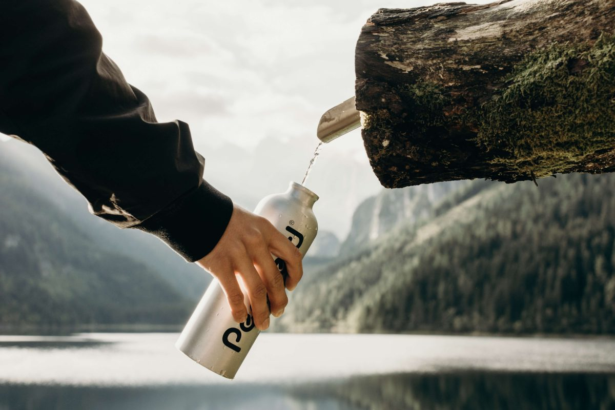 Save our seas by using reusable bottle