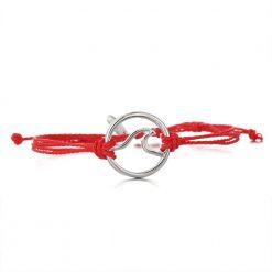 red wave bracelet