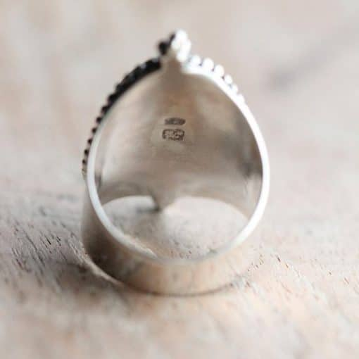 Bohemian Cowrie Shell Ring