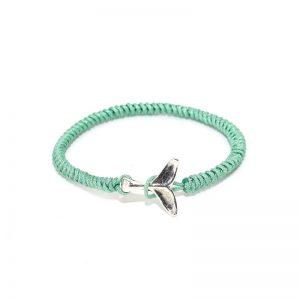 Green Whale Friendship Bracelet