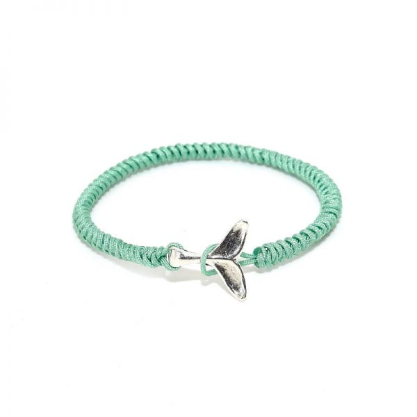 Green Whale Friendship Bracelet