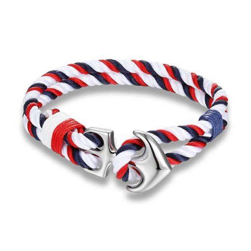 Nautical Anchor Bracelet