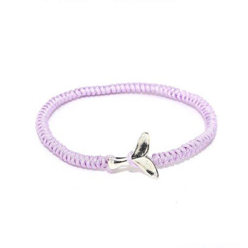 purple whale friendship bracelet
