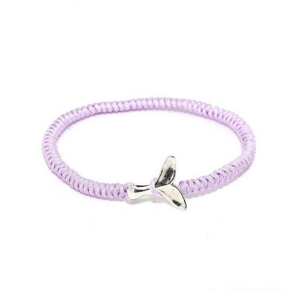purple whale friendship bracelet
