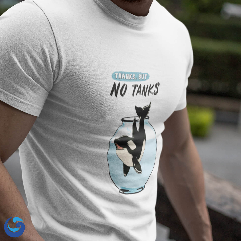 Thanks but No Tanks T-shirt