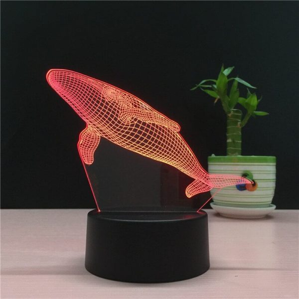 Red Whale Hologram
