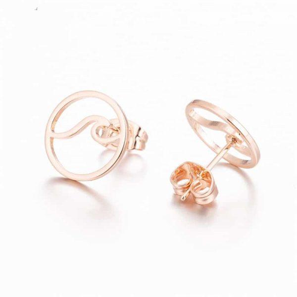 Pink Surfer earrings