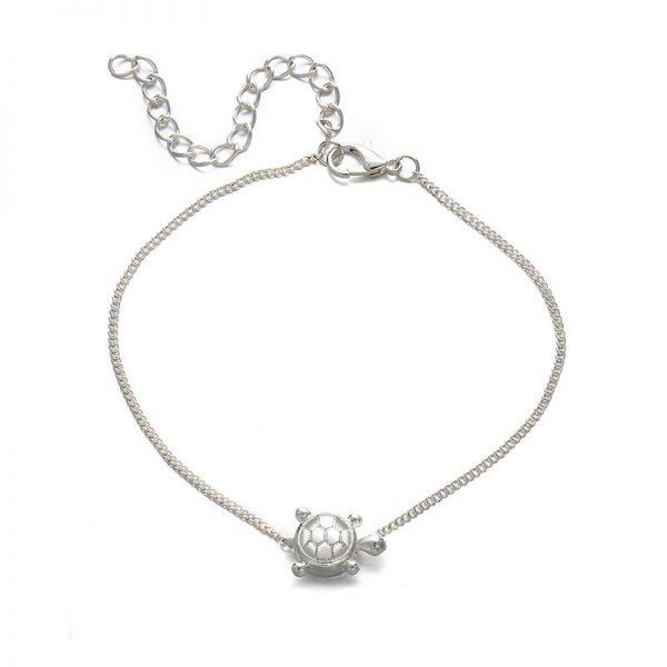 Turtle Ankle Bracelet