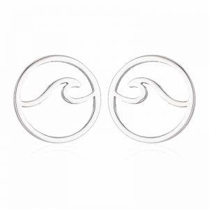 Silver Surfer earrings