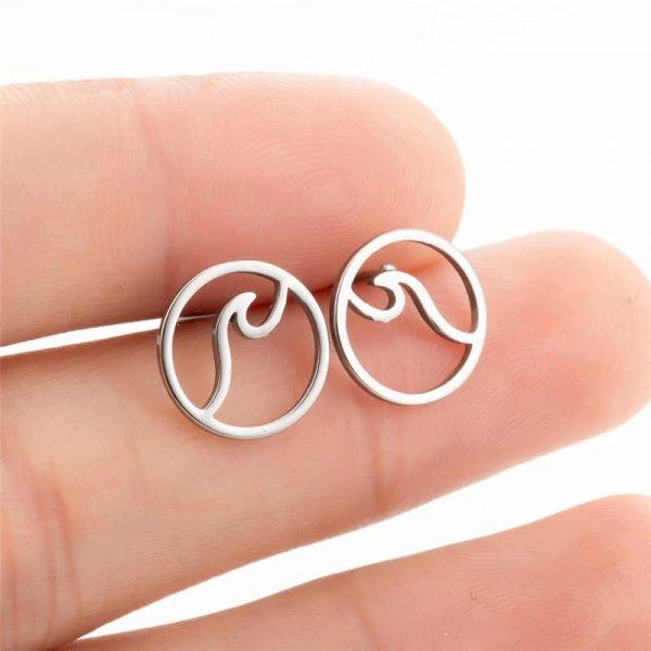 Surfer earrings