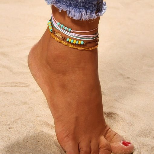 Tropical anklet