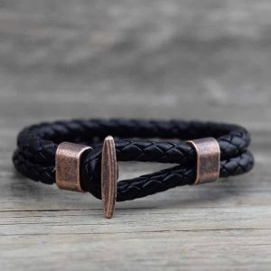 Black sailor bracelet