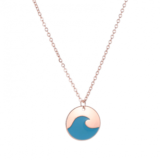 Blue Wave Necklace