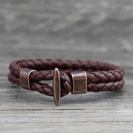 Brown sailor bracelet