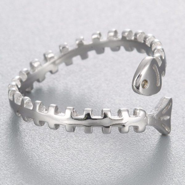 Fish Bone Ring
