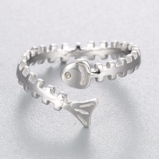 Fish Bone Ring