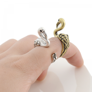 Flamingo ring