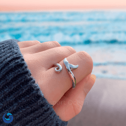 Orca Tail ring