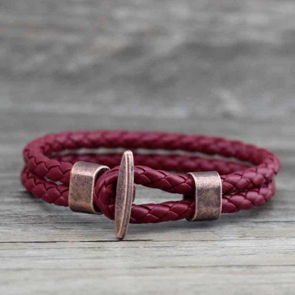 Pink sailor bracelet