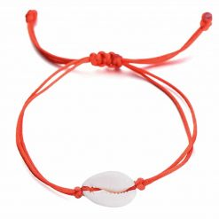 Red Cowrie bracelet