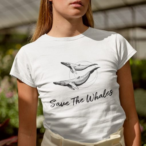 Save the Whales Tshirt