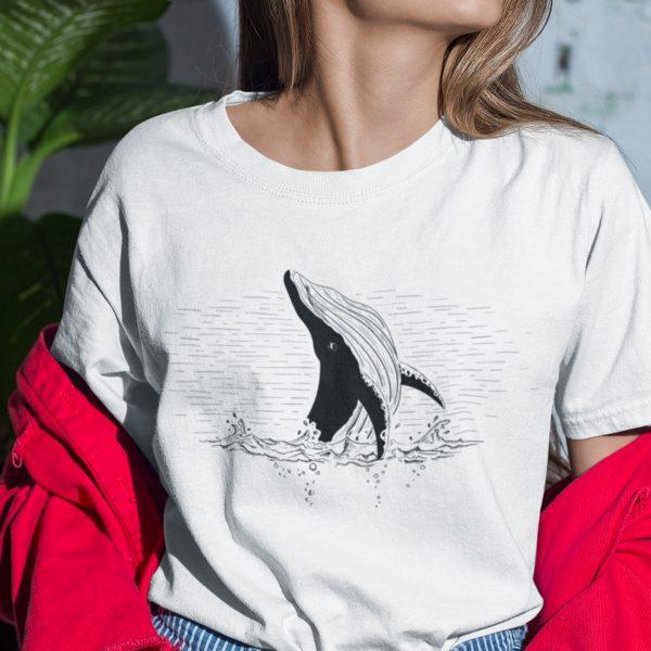 Whale Breach Tshirt