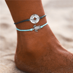 Compass Anklet