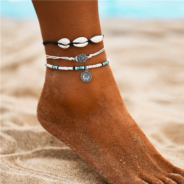 Mexican anklets