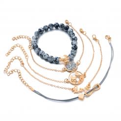 Set Ocean bracelets