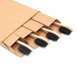 Bamboo Toothbrush Set