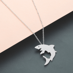 White Shark necklace