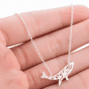 Blue Whale Necklace