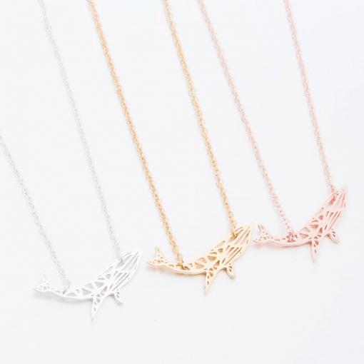 Blue Whale Necklaces