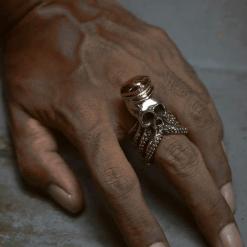 Kraken Mens Octopus Ring