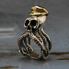 Mens Octopus Ring