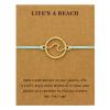 Blue Ocean Wave Bracelet