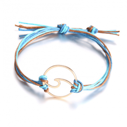 Adjustable surfing bracelet