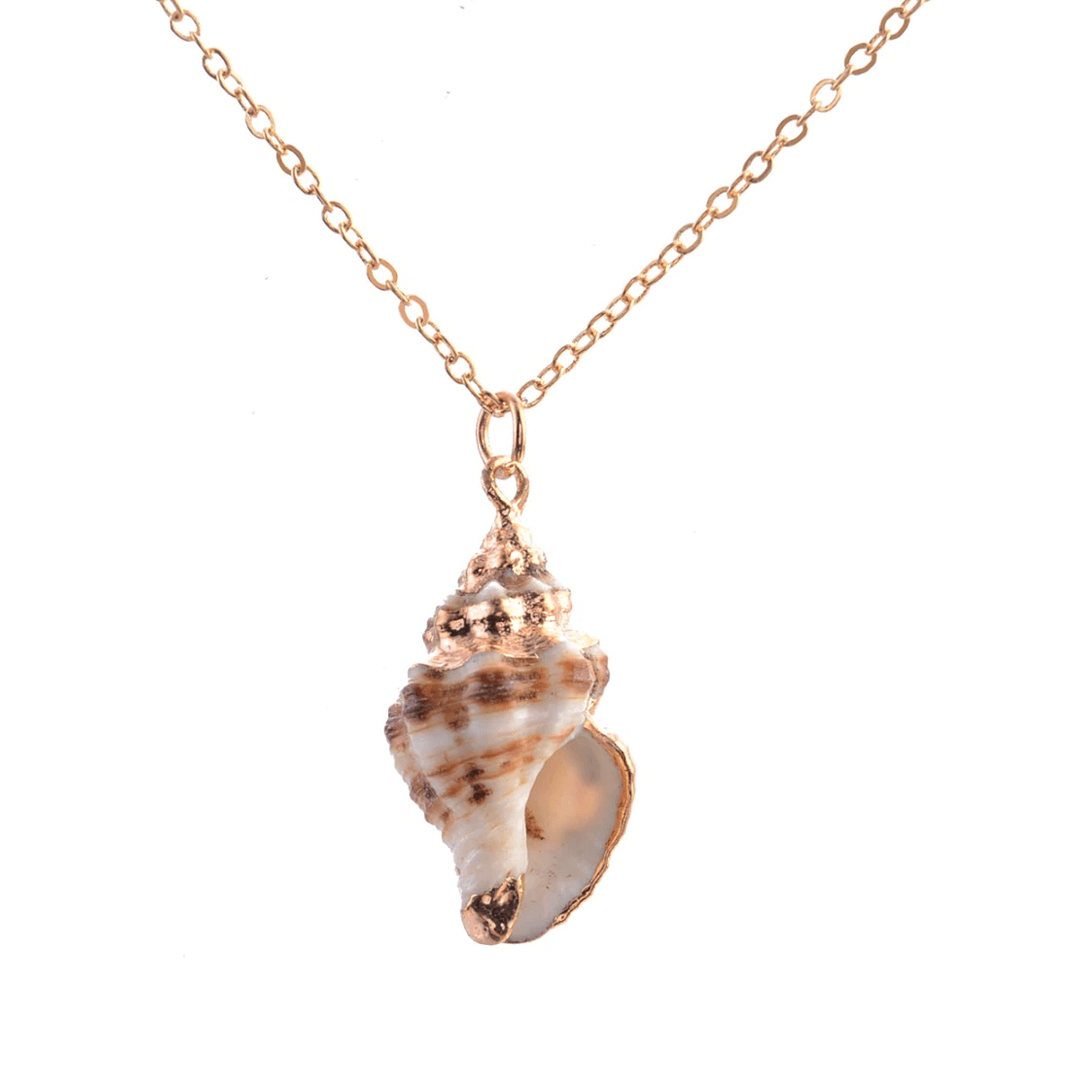 Charleston Conch Shell Necklace