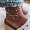 Crescent Moon Anklet