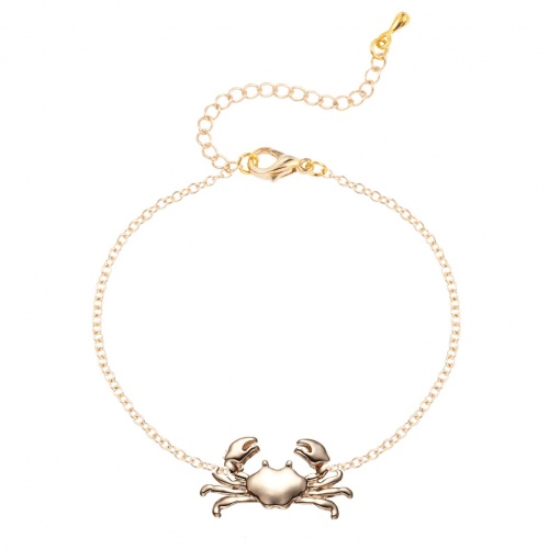 Gold Crab Bracelet
