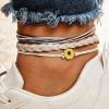 Sunflower Anklet