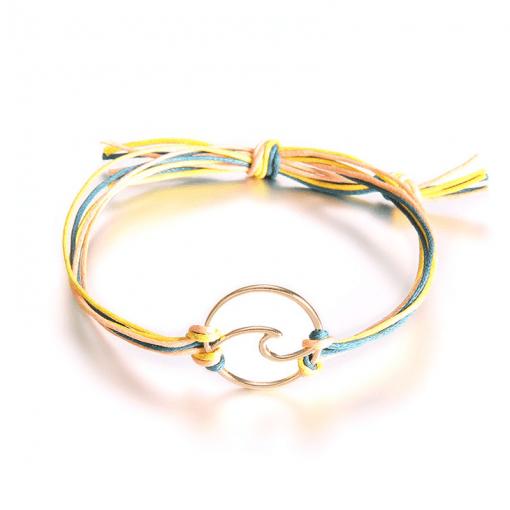 orange surfing bracelet